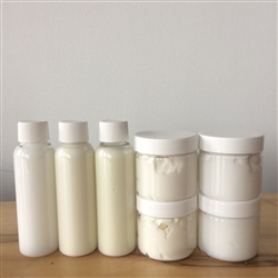 Lotion, Cream & Body Butter Bases (Sampler Set)
